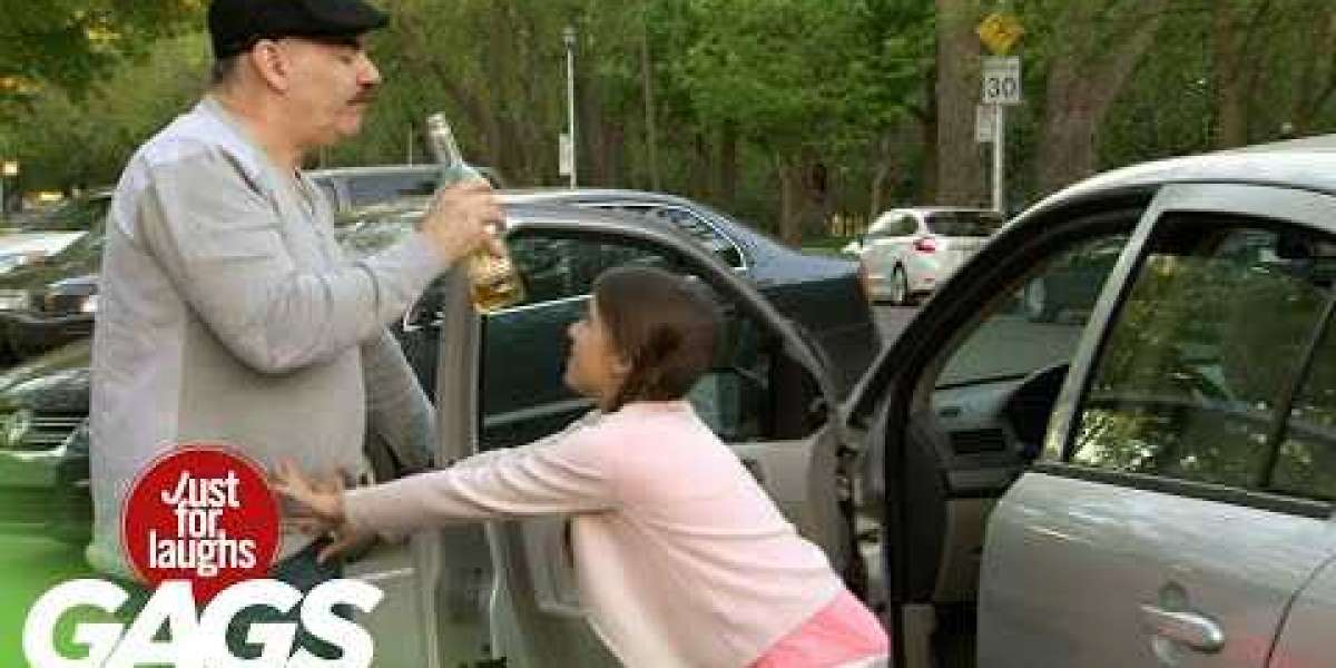 Little Girl Drives Her Drunk Dad Home
